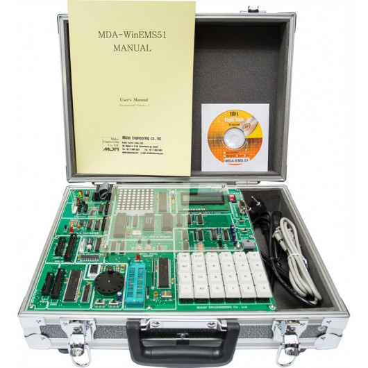 Microprocessor 8051 Board Trainer