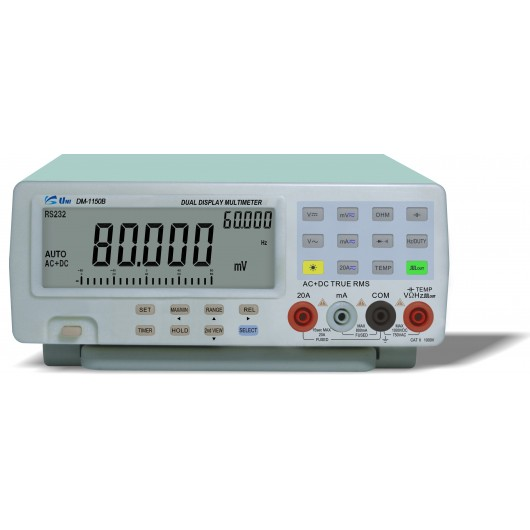 4 1/2-Digit & 4 7/8-Digit True RMS Digital Multimeter