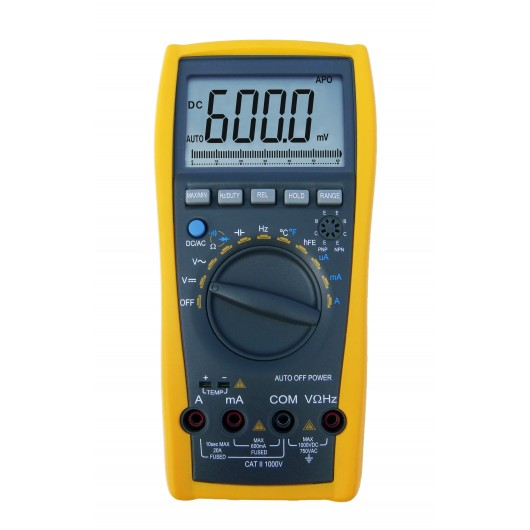 3 3/4-Digit & 3 5/6-Digit Handheld Digital Multimeter