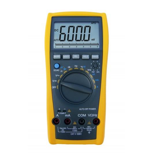 3 3/4-Digit & 3 5/6-Digit Handheld Digital Multimeter